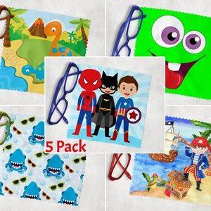 Little Boys Lens Cloth 5 Pack